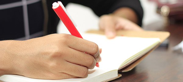 Writting a list